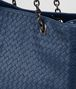BOTTEGA VENETA LARGE TOTE BAG IN PACIFIC INTRECCIATO NAPPA Top Handle Bag D ep