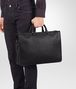 BOTTEGA VENETA AKTENTASCHE AUS INTRECCIATO KALBSLEDER IN NERO Business Tasche Herren ap