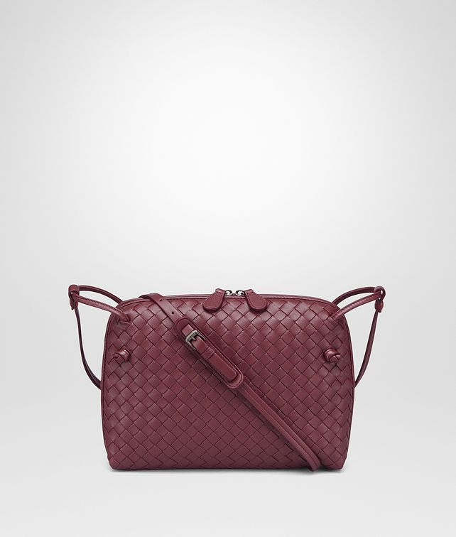 BOTTEGA VENETA MESSENGER BAG IN BAROLO INTRECCIATO NAPPA Crossbody bag Woman fp