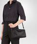 BOTTEGA VENETA MINI TOP HANDLE BAG IN NERO INTRECCIATO NAPPA Top Handle Bag Woman lp