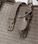 BOTTEGA VENETA MEDIUM ROMA BAG IN STEEL INTRECCIATO CALF Top Handle Bag D ep