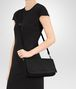 BOTTEGA VENETA CLUTCH BAG IN NERO INTRECCIATO NAPPA Clutch Woman lp