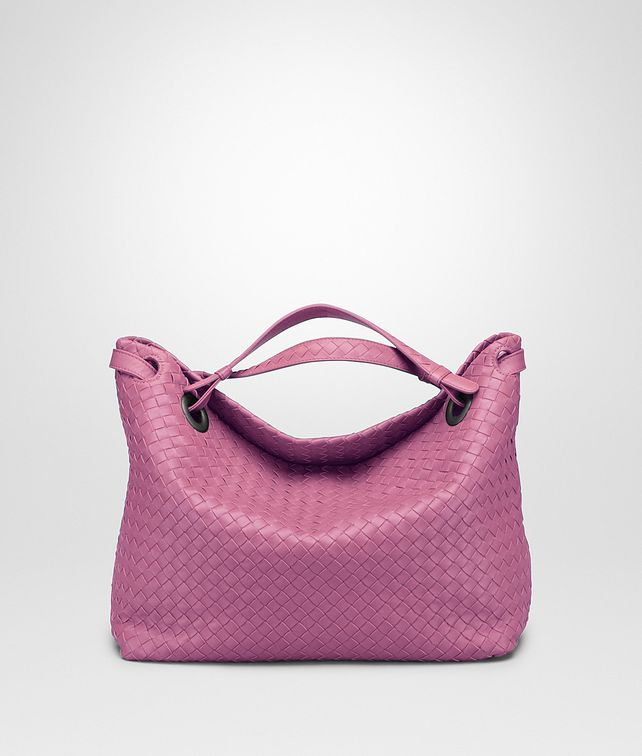 BOTTEGA VENETA MEDIUM SHOULDER BAG IN PEONY INTRECCIATO NAPPA Shoulder Bag       pickupInStoreShipping info 8815e44a44