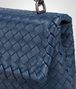 BOTTEGA VENETA BABY OLIMPIA TASCHE AUS INTRECCIATO NAPPA IN PACIFIC Shoulder Bag Damen ep