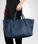 BOTTEGA VENETA LARGE TOTE BAG IN PACIFIC INTRECCIATO NAPPA Top Handle Bag D ap