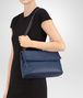 BOTTEGA VENETA MEDIUM OLIMPIA BAG IN PACIFIC INTRECCIATO NAPPA Shoulder or hobo bag Woman lp