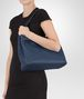 BOTTEGA VENETA MEDIUM SHOULDER BAG IN PACIFIC INTRECCIATO NAPPA Shoulder or hobo bag D lp