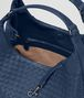 BOTTEGA VENETA MEDIUM CAMPANA BAG IN PACIFIC INTRECCIATO NAPPA Shoulder Bag Woman dp