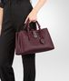 BOTTEGA VENETA SMALL ROMA BAG IN BAROLO INTRECCIATO CALF Top Handle Bag D ap