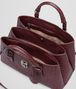 BOTTEGA VENETA SMALL ROMA BAG IN BAROLO INTRECCIATO CALF Top Handle Bag D dp