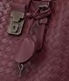 BOTTEGA VENETA BAROLO INTRECCIATO CALF SMALL ROMA BAG Top Handle Bag Woman ep