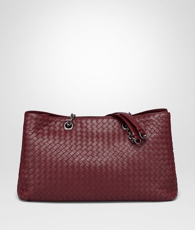 BOTTEGA VENETA BAROLO INTRECCIATO NAPPA TOTE Top Handle Bag D fp
