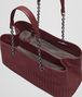 BOTTEGA VENETA BAROLO INTRECCIATO NAPPA TOTE Top Handle Bag D dp