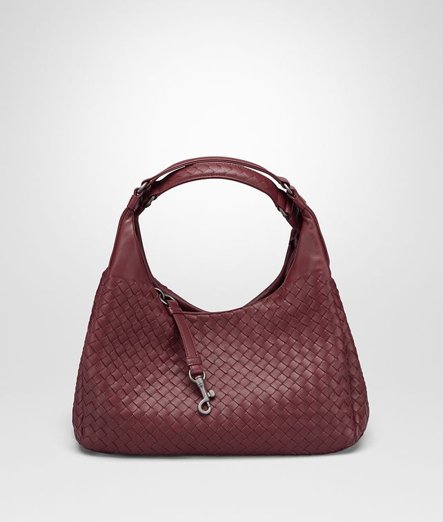 BOTTEGA VENETA BAROLO INTRECCIATO NAPPA MEDIUM CAMPANA BAG Shoulder Bag Woman fp