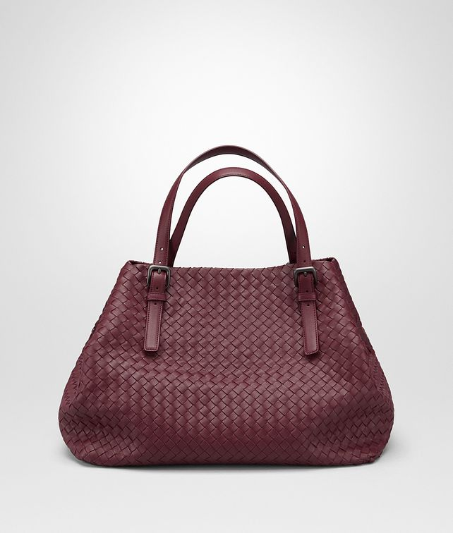 BOTTEGA VENETA BAROLO INTRECCIATO NAPPA LARGE TOTE Top Handle Bag D fp