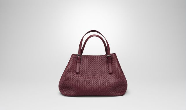 LARGE TOTE BAG IN BAROLO INTRECCIATO NAPPA