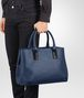 BOTTEGA VENETA TOTE BAG AUS MARCOPOLO IN PACIFIC Shopper E ap