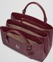 BOTTEGA VENETA MEDIUM ROMA BAG IN BAROLO INTRECCIATO CALF Top Handle Bag D dp