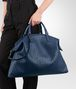 BOTTEGA VENETA MAXI CONVERTIBLE BAG IN PACIFIC INTRECCIATO NAPPA Top Handle Bag D ap