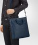 BOTTEGA VENETA TOTE BAG AUS INTRECCIATO VN IN PACIFIC Shopper Herren lp