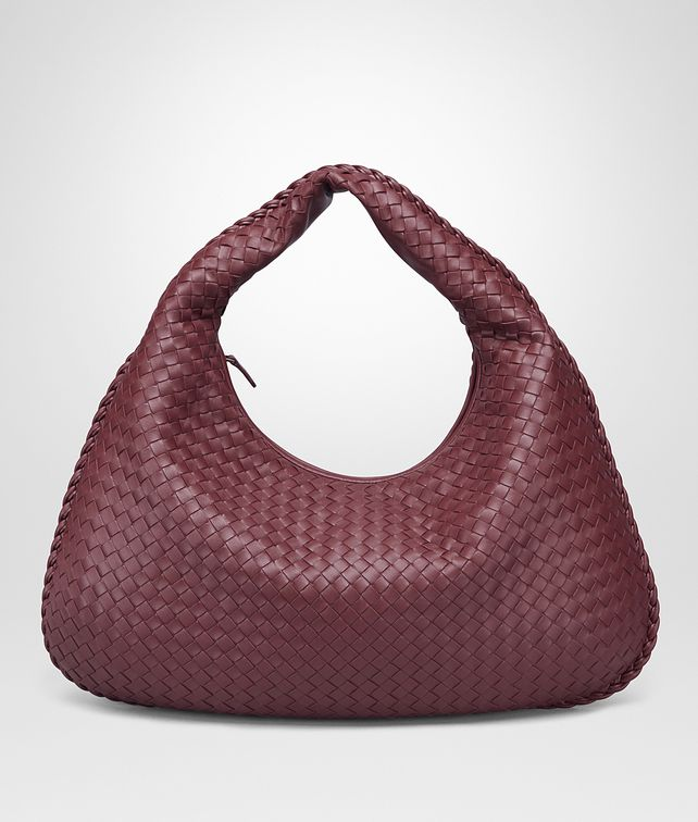BOTTEGA VENETA GROSSE VENETA TASCHE AUS INTRECCIATO NAPPA IN BAROLO Shoulder Bag Damen fp