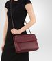 BOTTEGA VENETA MEDIUM OLIMPIA BAG IN BAROLO INTRECCIATO NAPPA Shoulder Bag Woman ap