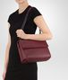 BOTTEGA VENETA MEDIUM OLIMPIA BAG IN BAROLO INTRECCIATO NAPPA Shoulder or hobo bag D lp
