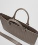 BOTTEGA VENETA BRIEFCASE IN STEEL INTRECCIATO CALF Business bag U dp