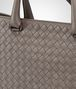 BOTTEGA VENETA BRIEFCASE IN STEEL INTRECCIATO CALF Business bag Man ep