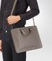 BOTTEGA VENETA BRIEFCASE IN STEEL INTRECCIATO CALF Business bag U lp