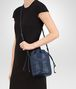 BOTTEGA VENETA BUCKET BAG IN PACIFIC INTRECCIATO CALF AND NAPPA Crossbody bag D ap