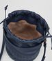 BOTTEGA VENETA BUCKET BAG IN PACIFIC INTRECCIATO CALF AND NAPPA Crossbody bag Woman dp