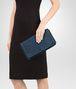 BOTTEGA VENETA CLUTCH BAG IN PACIFIC INTRECCIATO NAPPA Clutch Woman ap