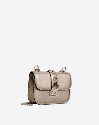 VALENTINO SINGLE HANDLE BAGS D Candystud Top Handle Bag r