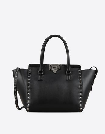 VALENTINO GARAVANI SINGLE HANDLE BAGS D Candystud Top Handle Bag f