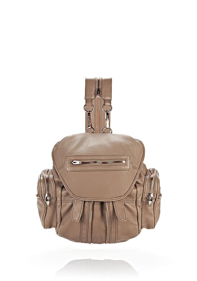 ALEXANDER WANG bags-classics MARTI IN LATTE WITH ROSE GOLD