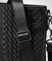 BOTTEGA VENETA MESSENGER BAG IN NERO INTRECCIO IMPERATORE CALF Messenger Bag Man ep