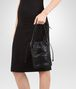 BOTTEGA VENETA BUCKET BAG IN NERO INTRECCIATO CALF AND NAPPA Crossbody bag Woman lp