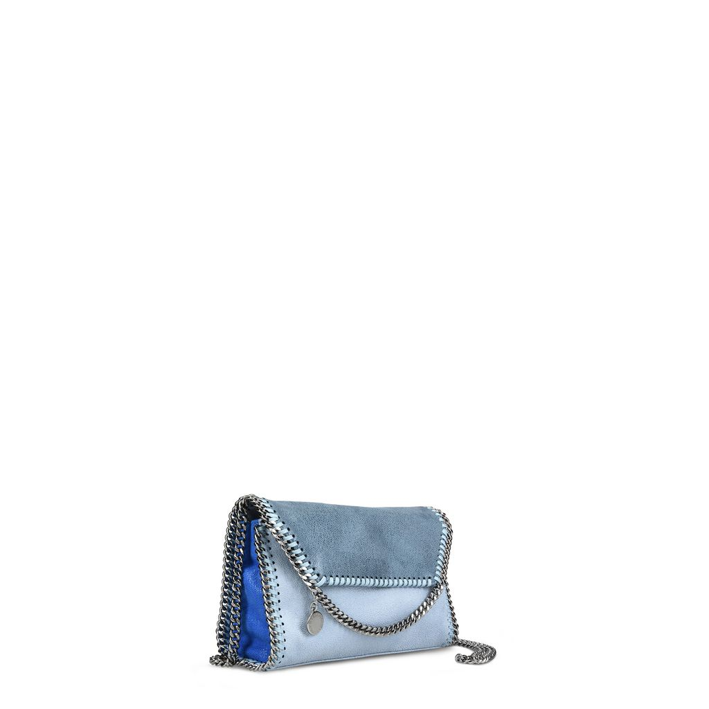 Duck Blue Falabella Shaggy Deer Mini Bag  - STELLA MCCARTNEY