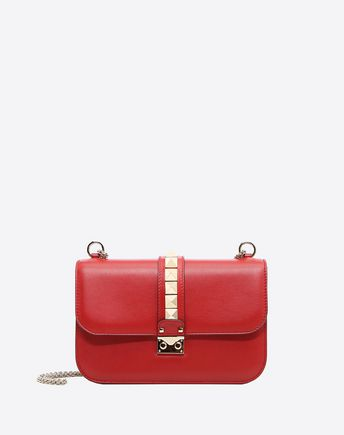 VALENTINO GARAVANI Messenger bag D Free Rockstud Shoulder Bag f