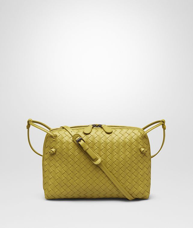 BOTTEGA VENETA MESSENGER BAG IN ANCIENT GOLD INTRECCIATO NAPPA Crossbody  and Belt Bags     379138965dcfd
