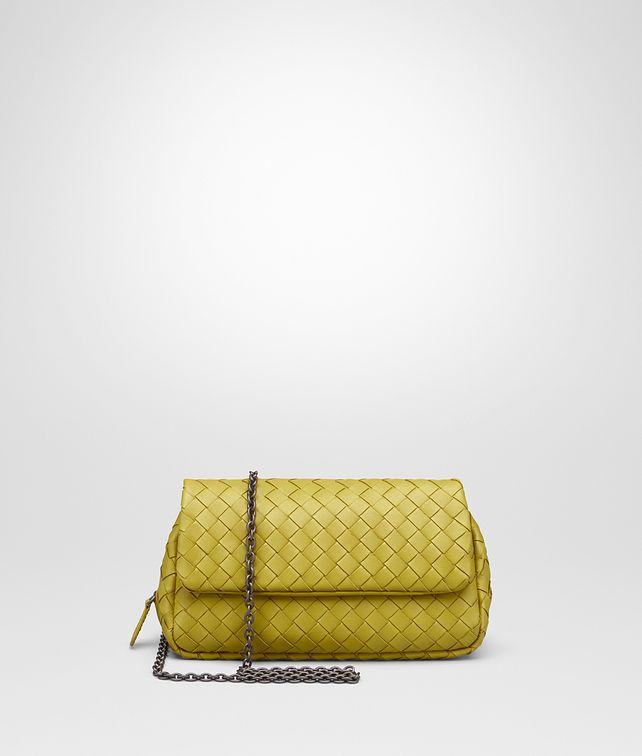336407067f2c BOTTEGA VENETA MESSENGER BAG IN ANCIENT GOLD INTRECCIATO NAPPA Crossbody  and Belt Bags