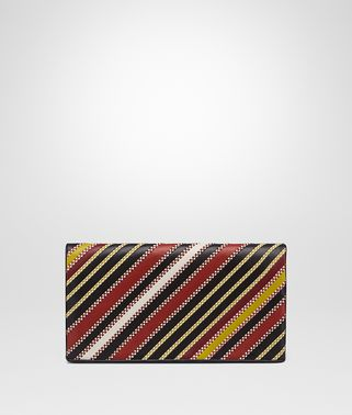 CLUTCH AUS NAPPA IN BAROLO MULTI NERO