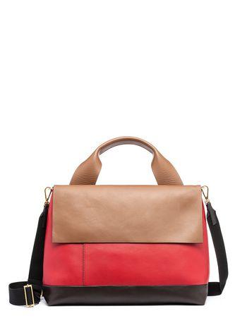 Marni CITY POD bag in matte napa leather Woman