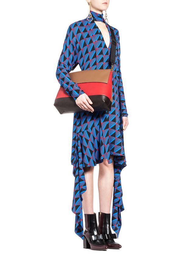 Marni CITY-POD bag in matt nappa Woman - 5
