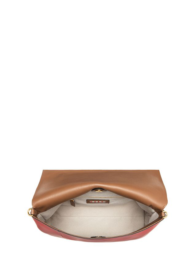 Marni CITY-POD bag in matt nappa Woman - 4
