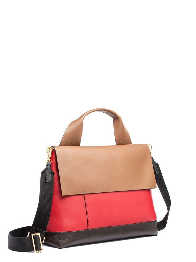 Marni CITY-POD bag in matt nappa Woman - 2