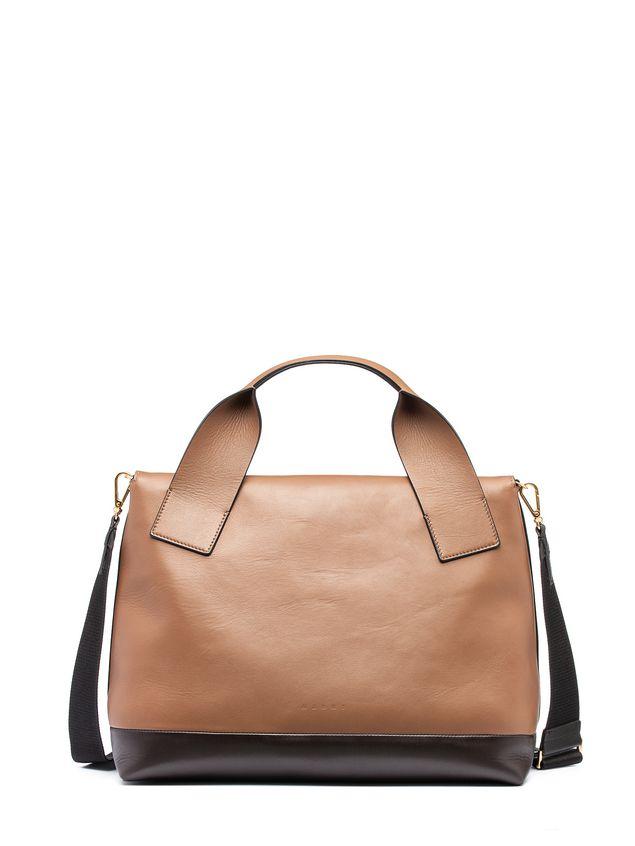 Marni CITY-POD bag in matt nappa Woman - 3