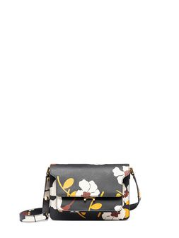 Marni Tri-colored TRUNK bag in printed Saffiano Woman