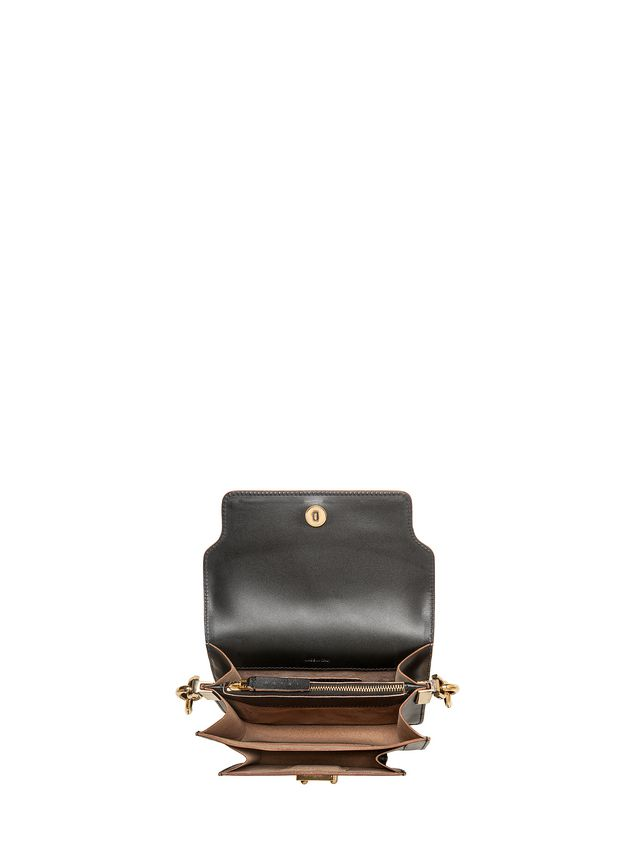 Marni MINI TRUNK bag in calfskin with chain Woman - 4